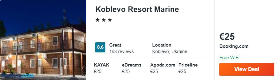 Koblevo Resort Marine