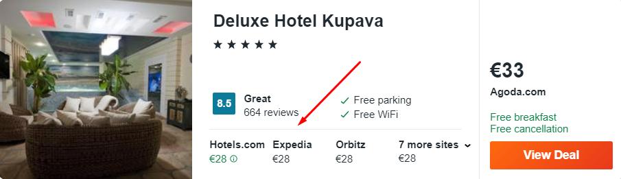 Deluxe Hotel Kupava