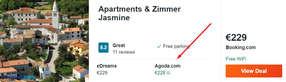 Apartments & Zimmer Jasmine