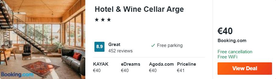 Hotel & Wine Cellar Arge