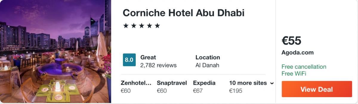 готель в Абу-Дабі
