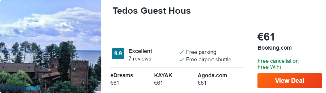 Tedos Guest Hous