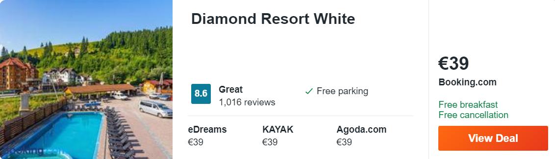 Diamond Resort White