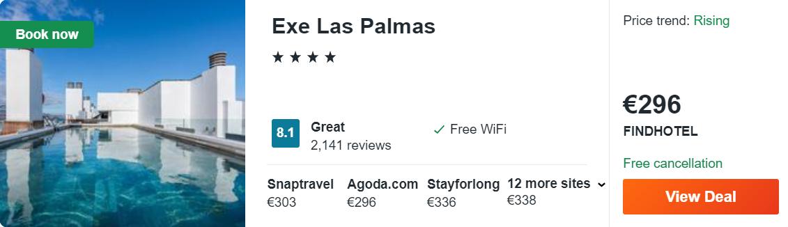 Exe Las Palmas