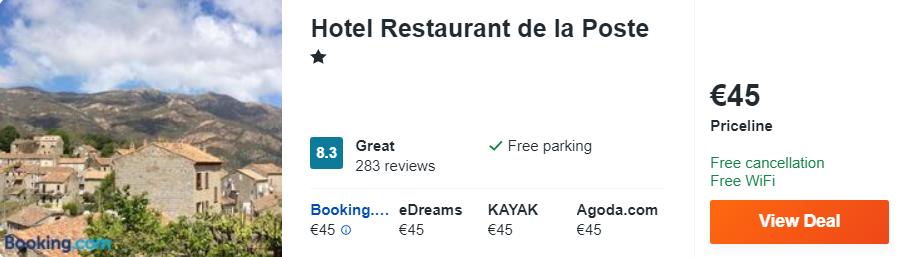 Hotel Restaurant de la Poste