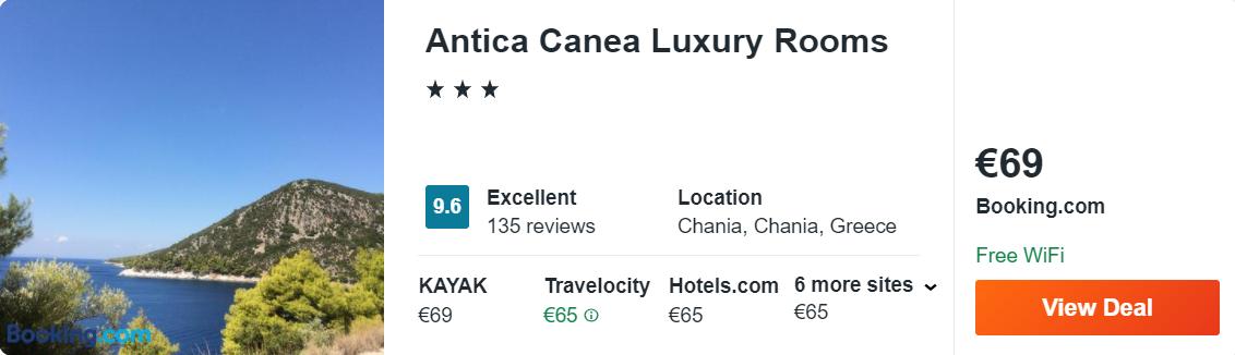 Antica Canea Luxury Rooms