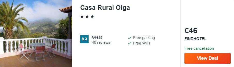 Casa Rural Olga