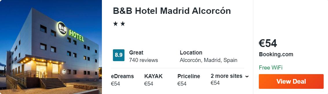 B&B Hotel Madrid Alcorcón