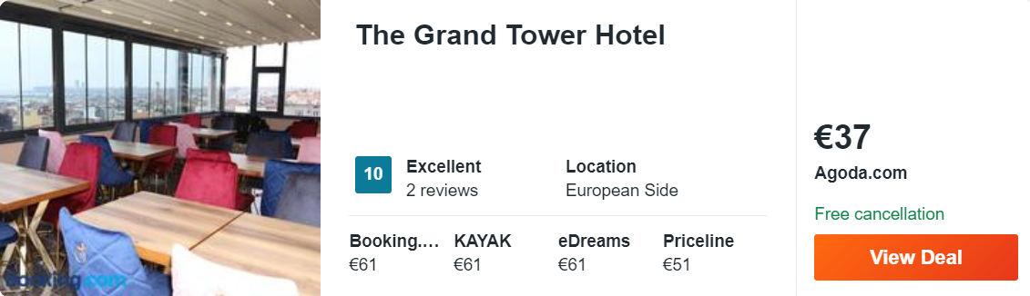 The Grand Tower Hotel