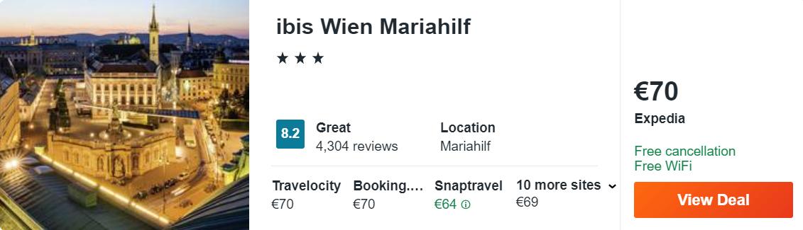ibis Wien Mariahilf