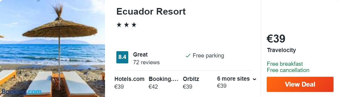 Ecuador Resort
