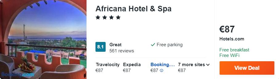 Africana Hotel & Spa