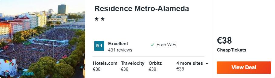 Residence Metro-Alameda