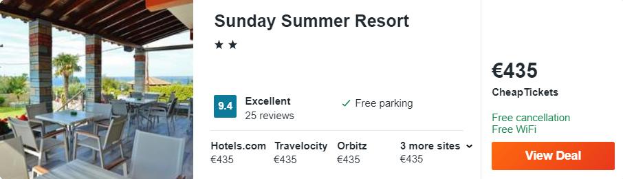 Sunday Summer Resort