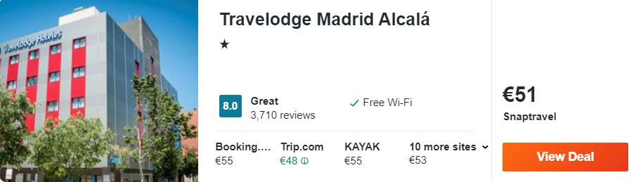Travelodge Madrid Alcalá