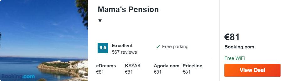 Mama's Pension