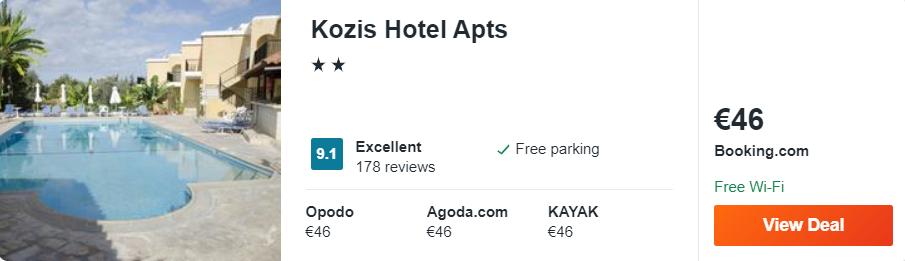 Kozis Hotel Apts