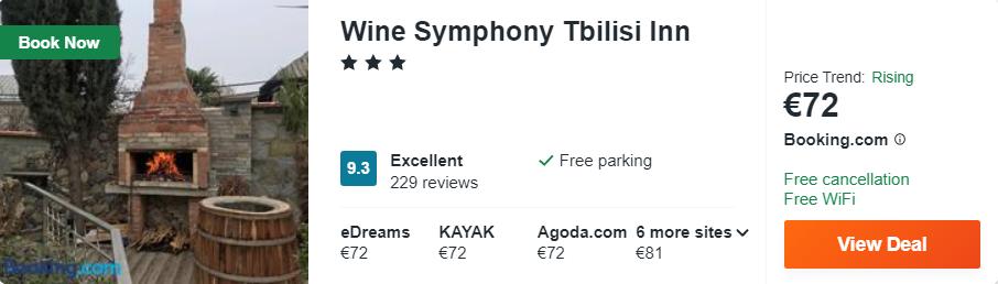 Wine Symphony Tbilisi Inn