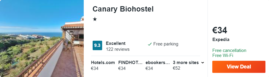 Canary Biohostel