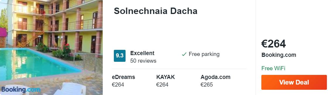 Solnechnaia Dacha