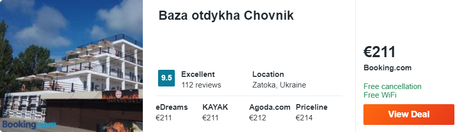 Baza otdykha Chovnik
