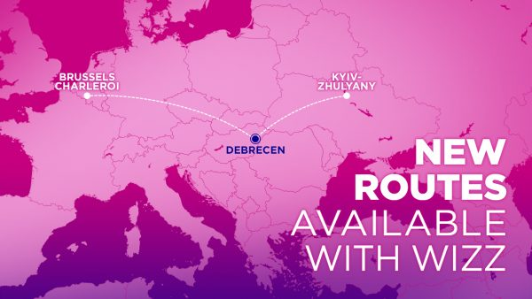 новий рейс Візз Ейр до Дебрецена