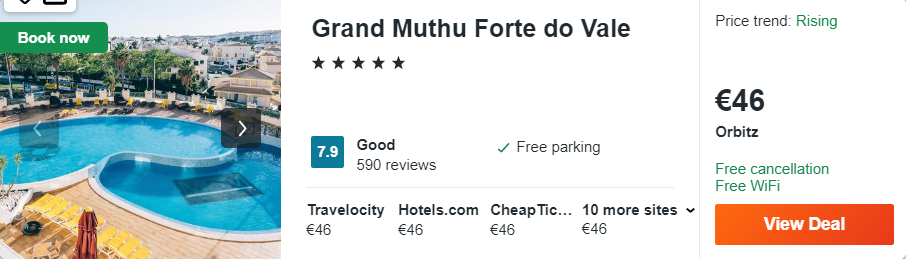 Grand Muthu Forte do Vale