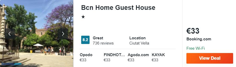 Bcn Home Guest House