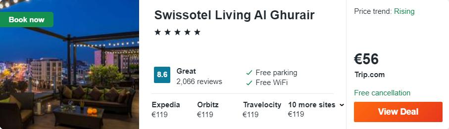 Swissotel Living Al Ghurair