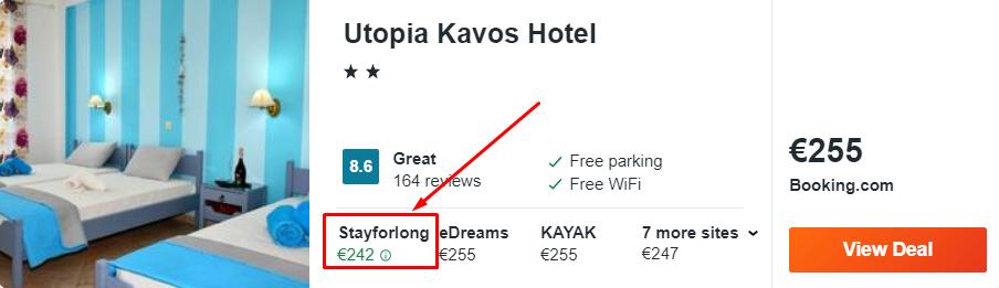 Utopia Kavos Hotel
