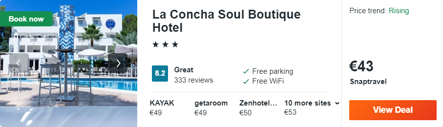 La Concha Soul Boutique Hotel