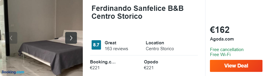 Ferdinando Sanfelice B&B Centro Storico