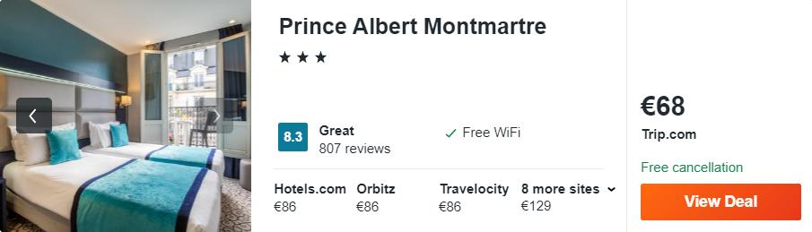 Prince Albert Montmartre