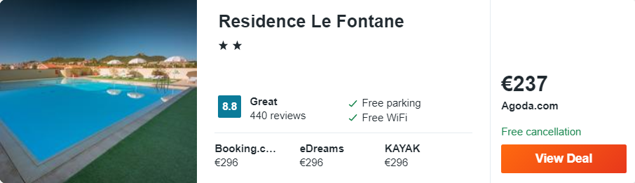 Residence Le Fontane