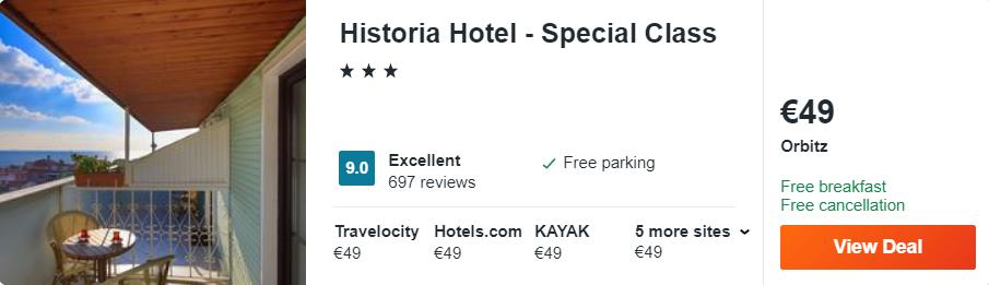 Historia Hotel - Special Class