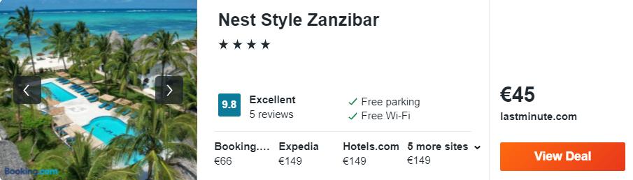 Nest Style Zanzibar