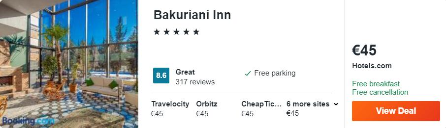 Bakuriani Inn