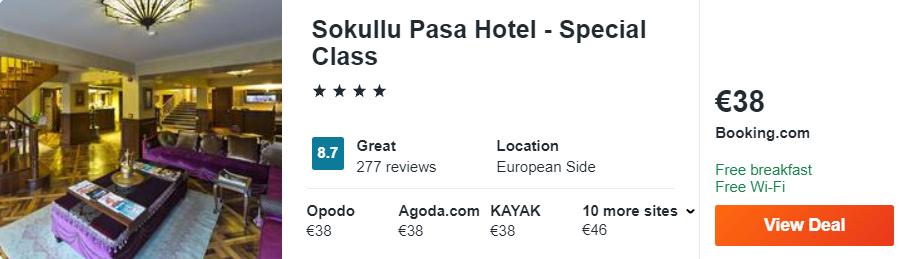 Sokullu Pasa Hotel - Special Class